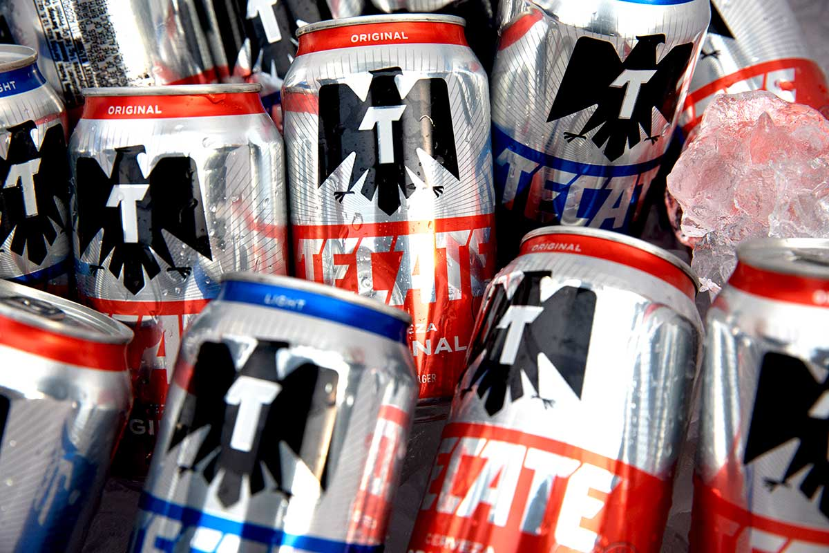 Tecate® Light and Original cans